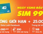 Khuyến mãi sim 3G 4G, sim nghe gọi giá rẻ viettel