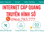 Viettel Tuy Phong +Internet Viettel tại Tuy Phong