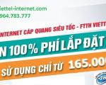 Lắp mạng Viettel Internet WiFi cáp quang tại Cao Bằng 2021