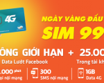 Sim 4G Viettel trọn gói