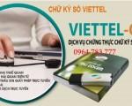 Viettel Bạch/ Thông / Đăng ký + gia hạn chữ ký số Viettel