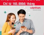 Lắp mạng Viettel Internet WiFi cáp quang tại Long An 2021